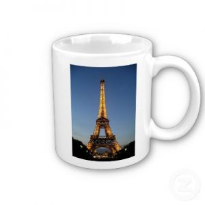Eiffel Tower Mug France souvenir
