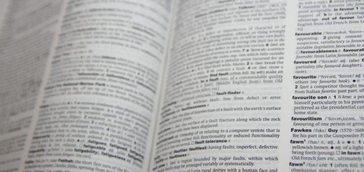 dictionary useful book