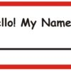 What's the Etiquette For Name Tags?