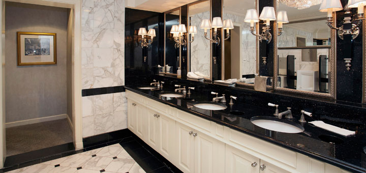Fancy Bathroom: An Observation About Bathrooms