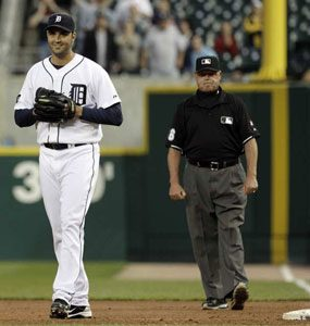 Armando Galarraga perfect game lost pitcher