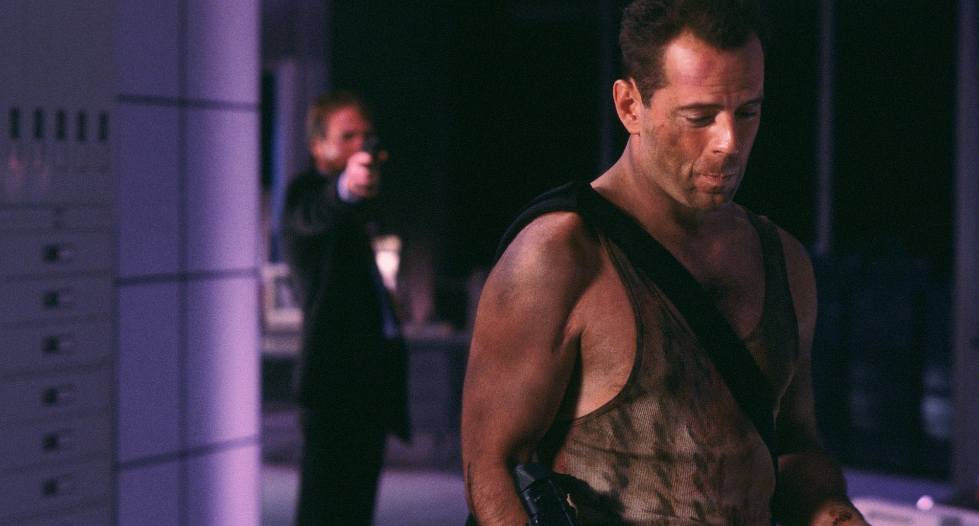 Die Hard 1988 action classic Bruce Willis Alan Rickman