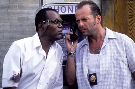 Die Hard With A Vengeance Samuel Jackson Bruce Willis