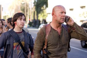 Live Free Or Die Hard Bruce Willis Justin Long