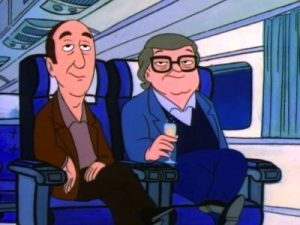 Gene Siskel Roger Ebert animated cartoon show The Critic