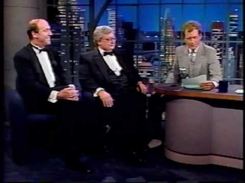 Gene Siskel Roger Ebert on David Letterman