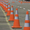 I'm Surrounded By Orange Cones!