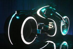 Tron Legacy 2010 new Lightcycle