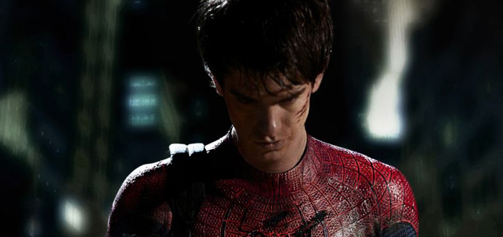 Andrew Garfield Spiderman first photo