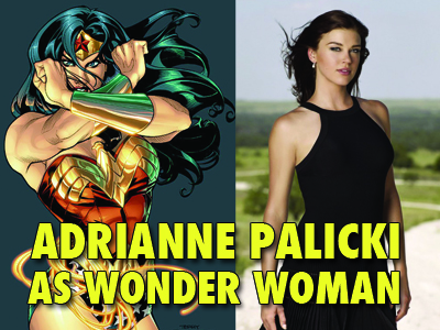 Adreinned Palicki Wonder Woman tv show
