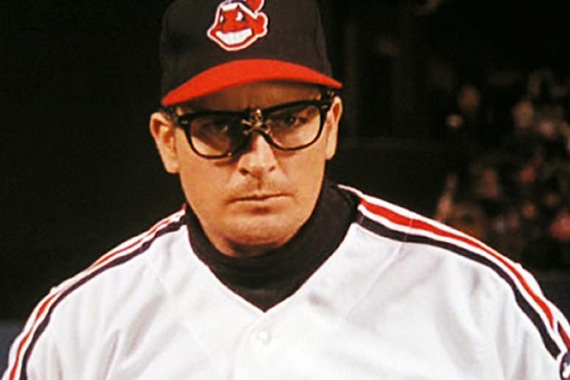 Charlie Sheen As 'The Wild Thing'! I Mean In A Movie