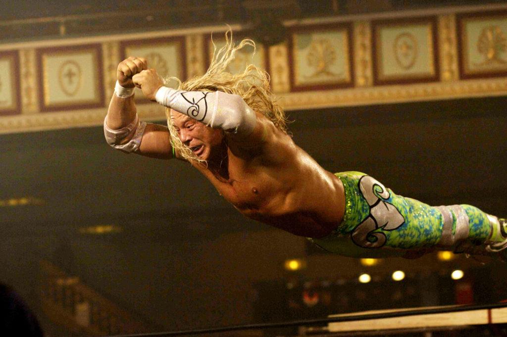 Wrestler Mickey Rourke