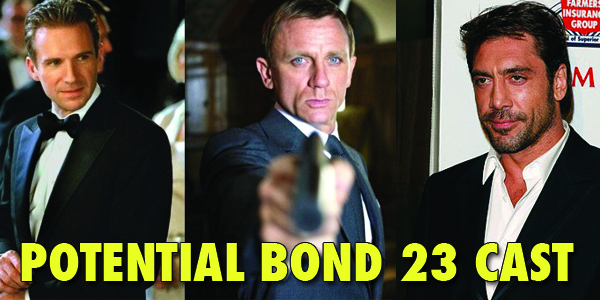 Who Might Be In Bond 23….?
