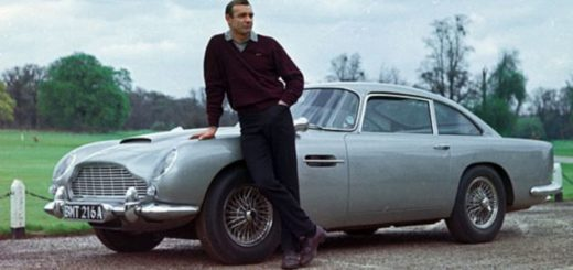 James Bond Aston Martin car auction