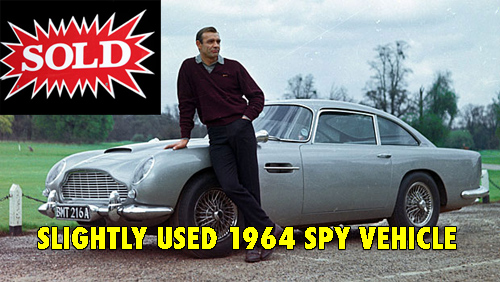 James Bond Aston Martin DB5 sold new owner