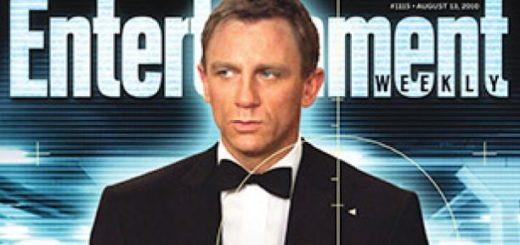 Entertainment Weekly James Bond cover story