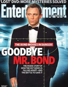 James Bond article series trouble disaster problems lawsuits