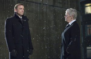 Quantum Solace Daniel Craig Judy Dench James Bond movie