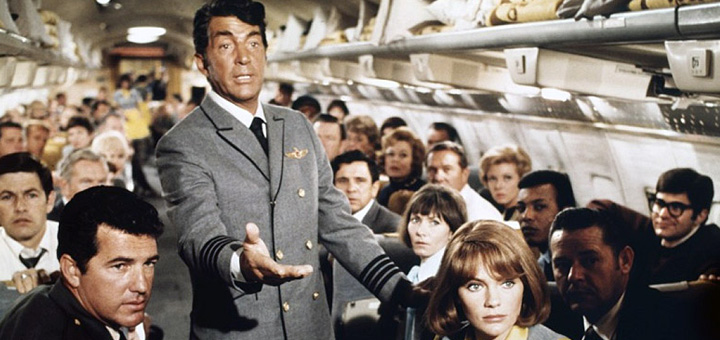 Airport 1970 Dean Martin disaster movie