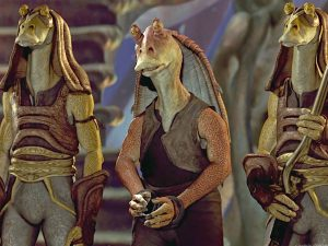 Star Wars Jar-Jar Phantom Menace