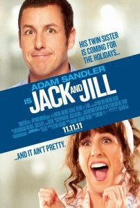 Jack and Jill worst awful bomb movie poster Adam Sandler