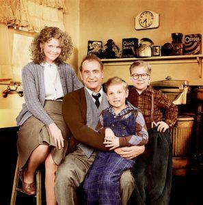 Christmas Story 1983 Parker Family cast Ralphie Randy Mom Old Man