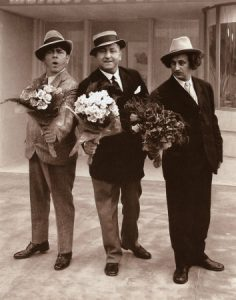Three Stooges Moe Curly Larry
