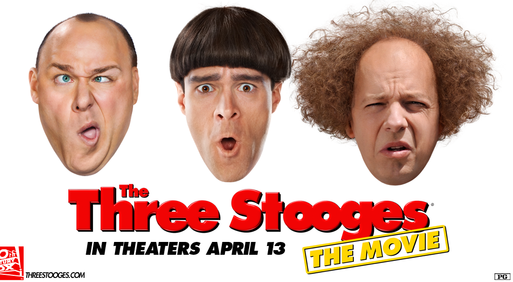 The Three Stooges Are Back! (Sort of….)