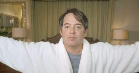 Matthew Broderick as Ferris Bueller commercial