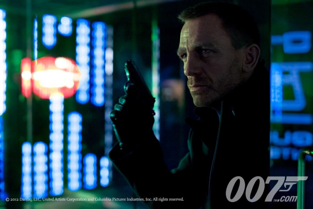 Skyfall first photo of Daniel Craig as James Bond 007