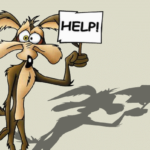 Wile Coyote help sign