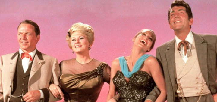 Four For Texas 1963 Frank Sinatra Dean Martin Ursual Andress Anita Ekberg