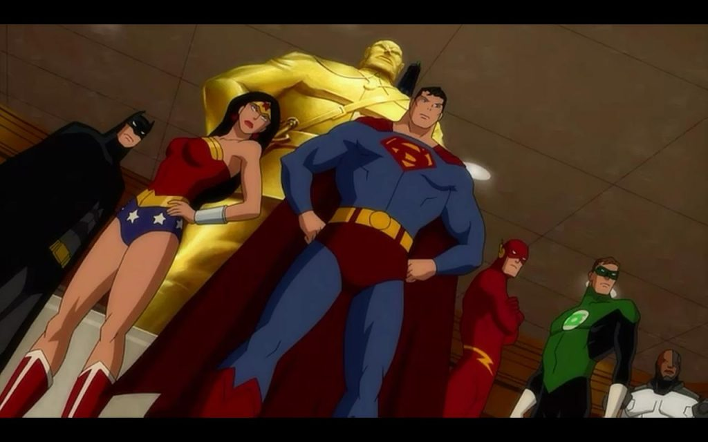Justice League Doom 2012 DC animated movie