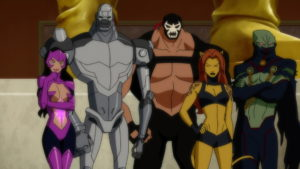 Justice League Doom villains