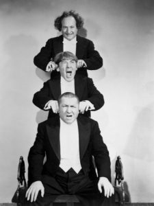 Moe Larry Curly Three Stooges