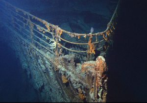 Titanic Wreckage Bow