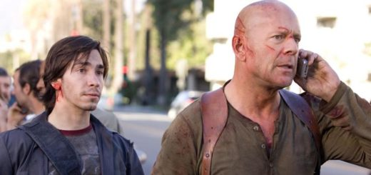 Live Free Die Hard Bruce Willis Justin Long