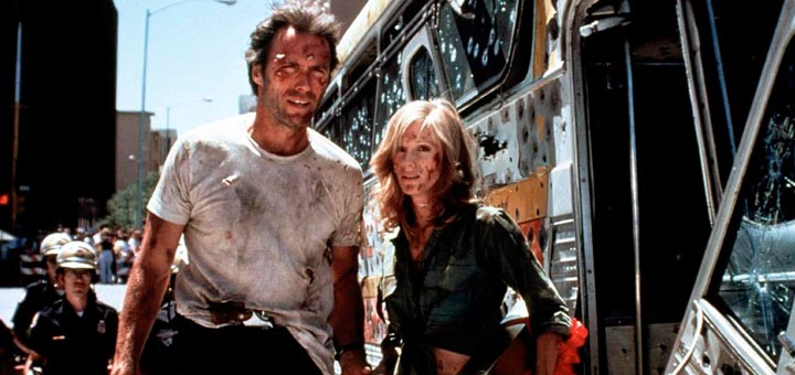 Gauntlet 1977 Clint Eastwood Sondra Locke