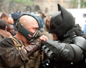 Dark Knight Rises Bane & Batman