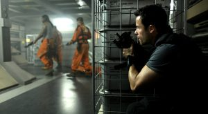 Lockout 2012 sci-fi action movie Guy Pearce