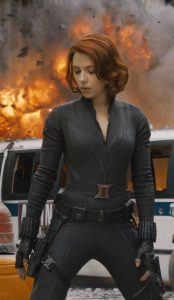 The Avengers Scarlett Johansson Black Widow