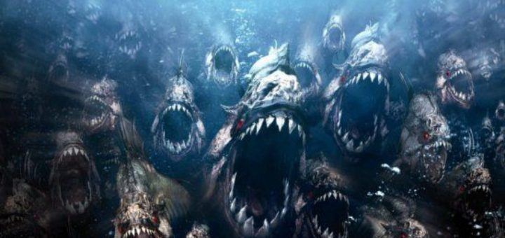 Piranha 3DD horor movie sequel