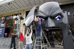 Dark Knight Rises Paris