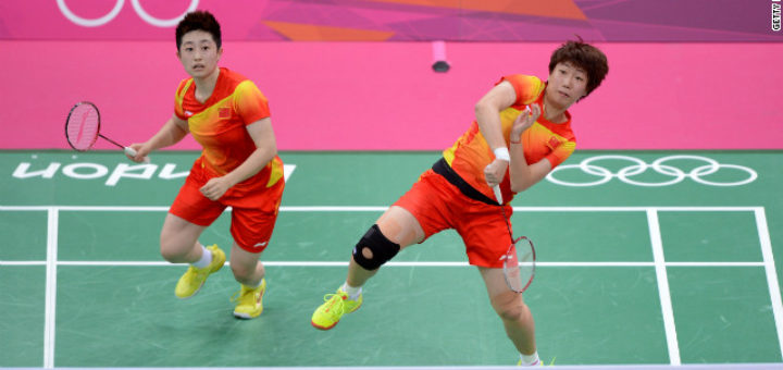 badminton Olympic scandal