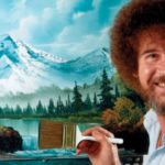 Bob Ross painting music video
