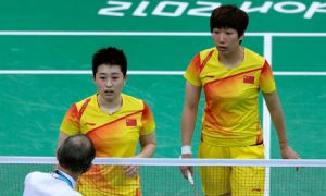 Olympic Badminton Scandal cheating disqualified
