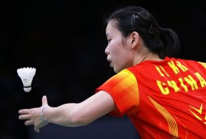 Olympics Badminton competition sport