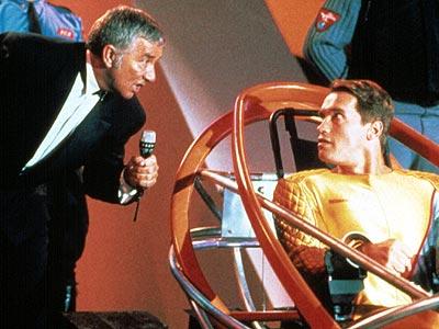 Running Man 1987 action movie Richard Dawson Arnold Schwarzenegger