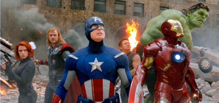 Marvels Avengers 2012