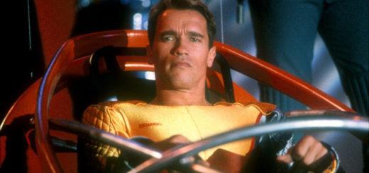 Running Man Arnold Schwarzenegger
